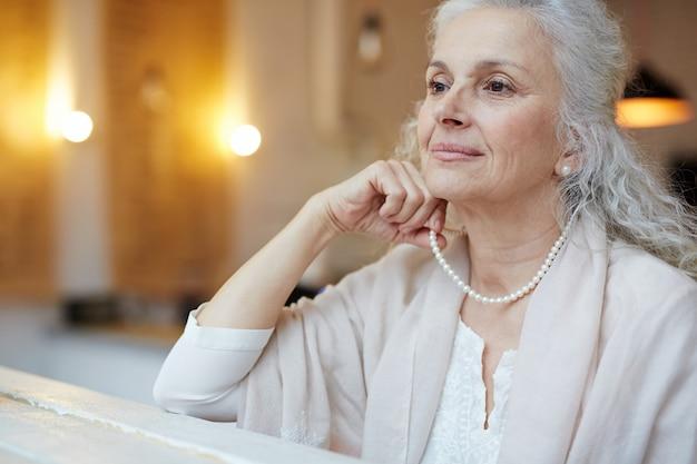 Old woman elegance Free Photo