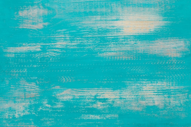 Old wood background in light blue color. Free Photo