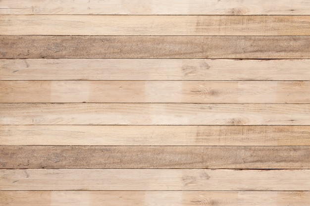 Old wood plank wall background, old wooden uneven texture background Premium Photo