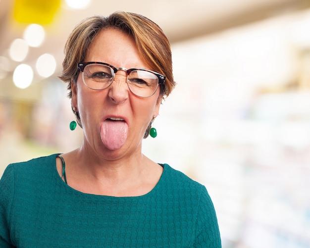 tongue big women escort