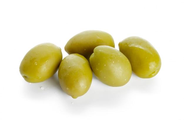 Olive isolated Premium Photo