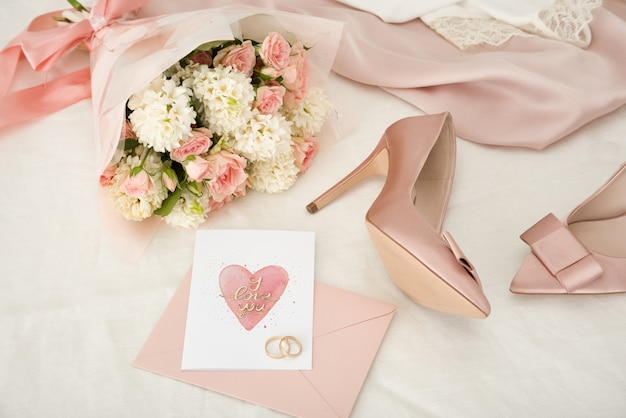 One hour before a wedding ceremony Premium Photo