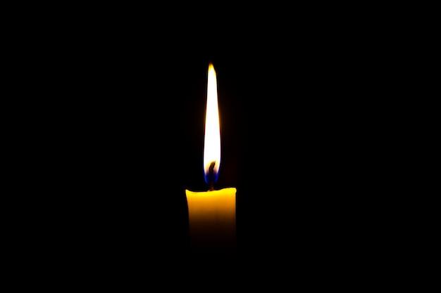 Один романс свеча мемориальная Бесплатные Фотографии