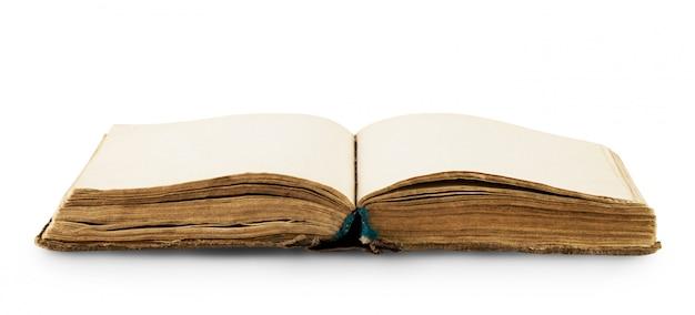 오래된 책 열기 프리미엄 사진