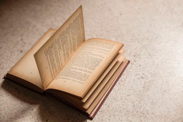 Open old book Premium Photo