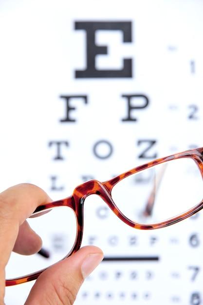 Optometry concept Premium Photo