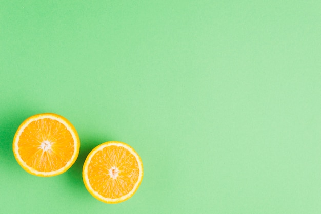 Orange background with big copyspace Free Photo