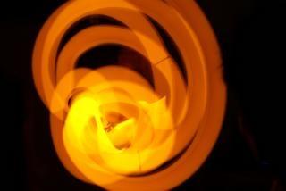 Orange glowsticks, stick Free Photo