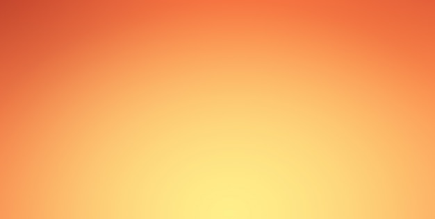 Orange gradient background with spotlight shine on center and vignette border. Premium Photo