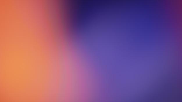Orange gradient defocused abstract photo smooth lines pantone color background Premium Photo