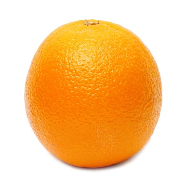 Orange isolated Premium Photo