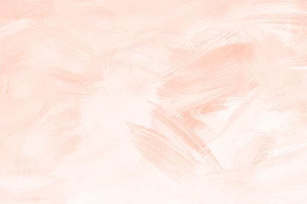 オレンジ色のペイントブラシのテクスチャ 無料写真