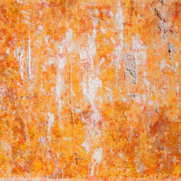 Orange Cement Wall : Orange painted concrete wall photo free download