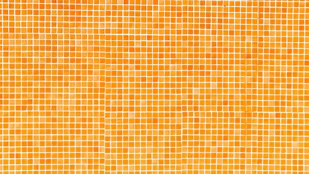Orange pool mosaic background Free Photo