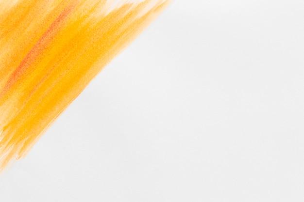 Оранжевая акварель краска копирует пространство Бесплатные Фотографии