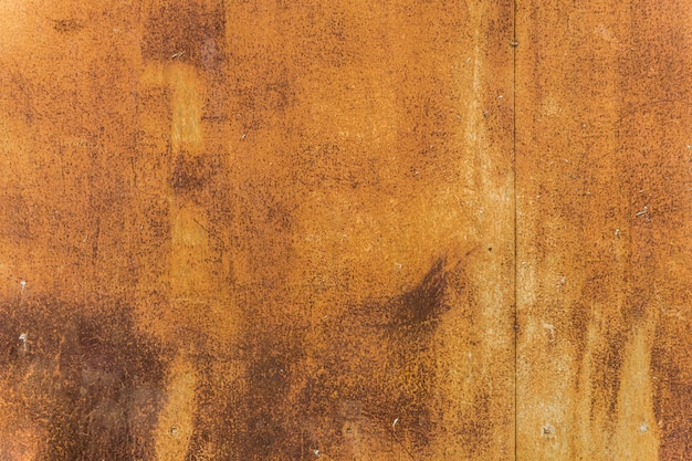 Orange worn rusty metal texture background Premium Photo
