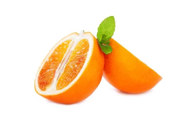 Oranges in a metal basket Free Photo