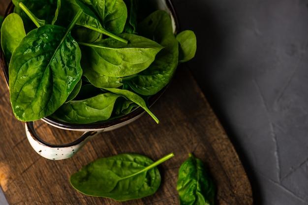 Organic food concept Premium Photo