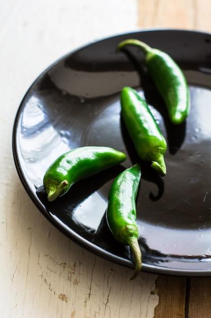 Organic green pepercorns Premium Photo