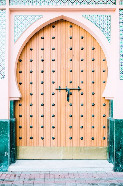 オリエンタルドア 無料写真