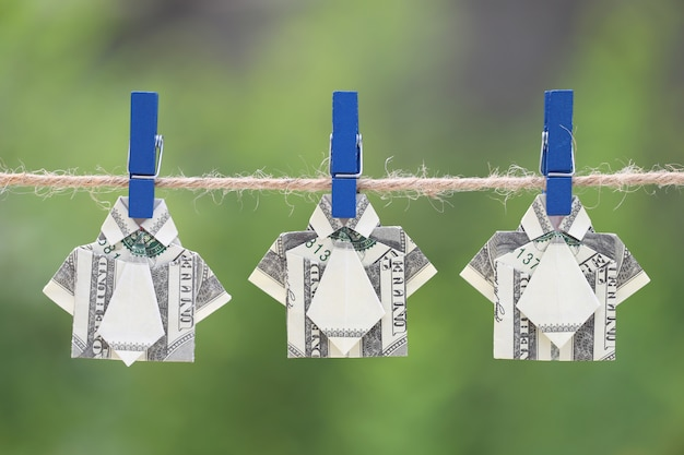 Dollar Origami Shirt & Tie Tutorial - How to fold a dollar bill in ...   417x626