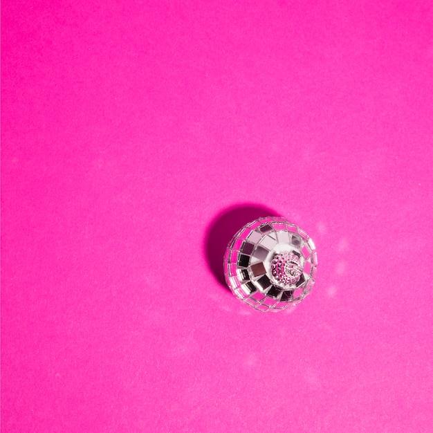Ornament silver ball Free Photo