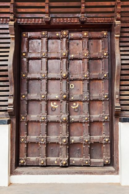 Ornate door Premium Photo