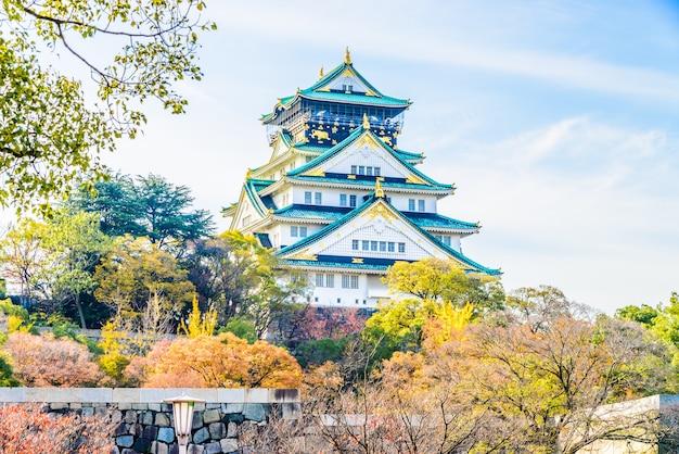 Osaka castle Free Photo