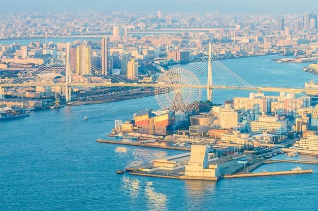 Osaka city Free Photo