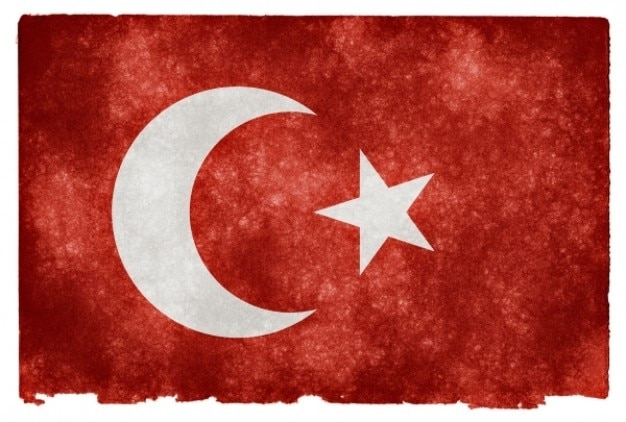 Ottoman Empire Grunge Flag Photo Free Download