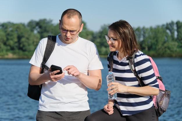 Pics outdoor mature Women in