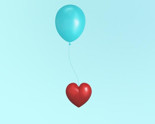 Outstanding red decorative heart Premium Photo