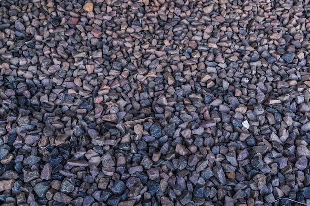 다른 크기의 돌 배경의 오버 헤드 근접 촬영 샷 무료 사진