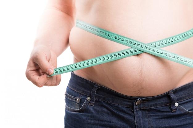 Overweight problem Premium Photo