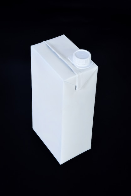 Package of carton isolated Premium Photo