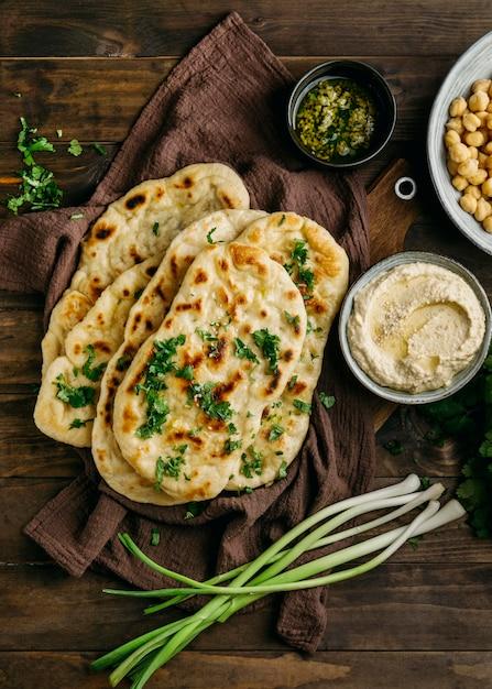 천 편평한 누워 파키스탄 음식 무료 사진