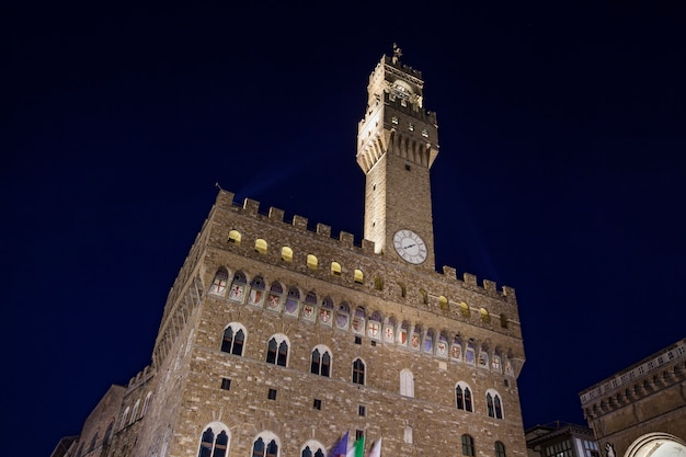 Палаццо веккьо во флоренции Premium Фотографии