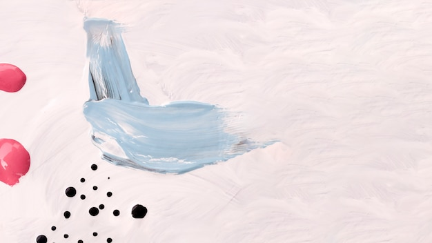 Pale colored painting with copy space Free Photo