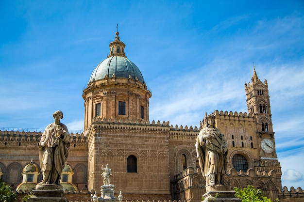 Palermo cathedral Premium Photo