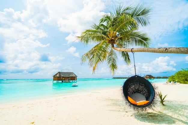 Palm luxury sky bora caribbean Free Photo