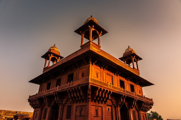 Panch mahal area in fatehpur sikri in uttar pradesh region in india. Premium Photo