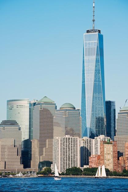 Panorama of new york city Premium Photo
