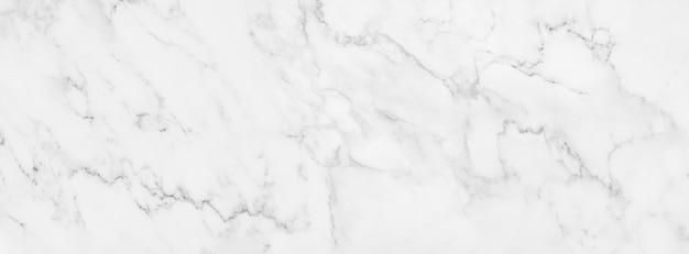 Текстура панорамы белая мраморная для дизайна предпосылки или плиточного пола декоративного. Premium Фотографии