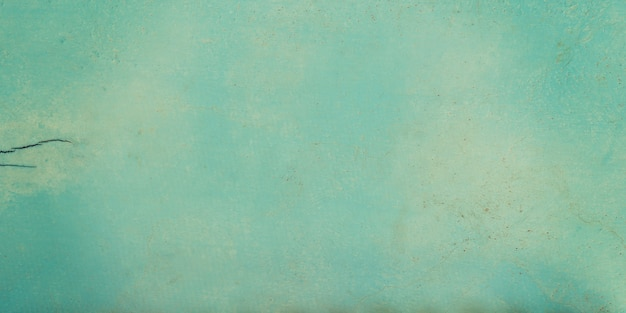 Panorama wooden blue background and texture with copy space. Premium Photo