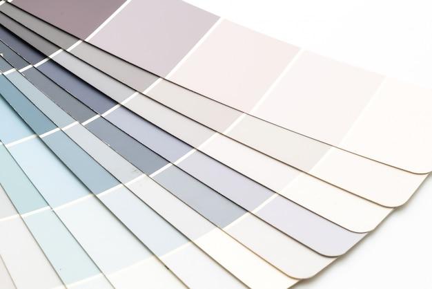 Каталог образцов цветов pantone Premium Фотографии