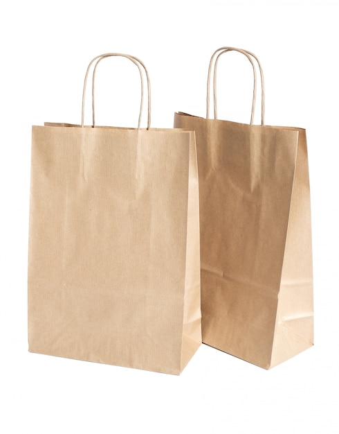 Paper bags Free Photo