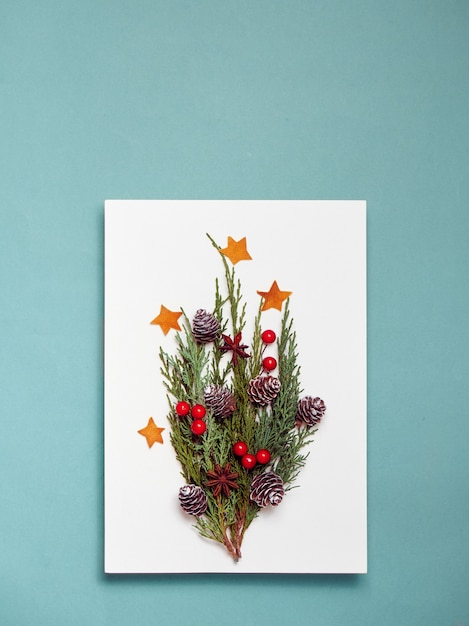 Paper blank mock up, decorations Premium Photo
