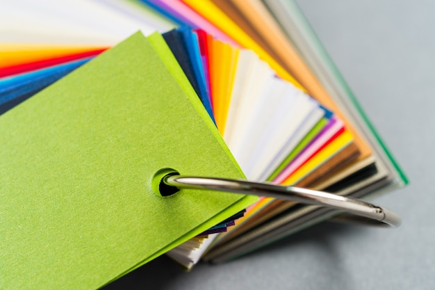 Образцы цветов бумаги Premium Фотографии