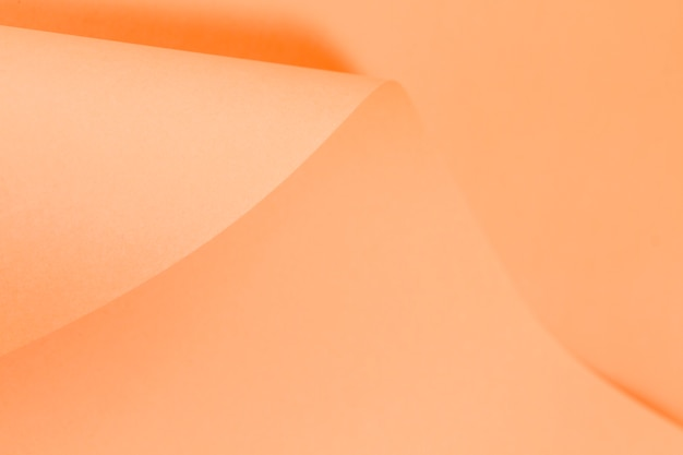 Бумага свернутая оранжевой страницей Бесплатные Фотографии