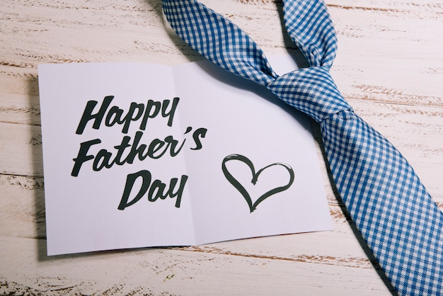 Paper template for fathers day Free Photo